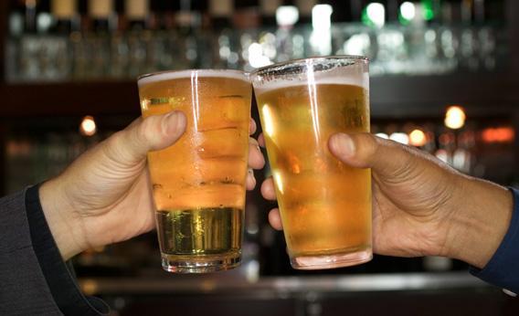 Brinde com Cerveja