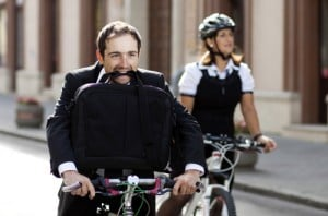Indo ao Trabalho de Bicicleta