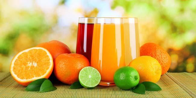 Sucos e Frutas