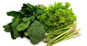 Aspargos e brócolis
