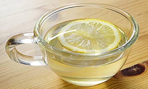 água com limão emagrece