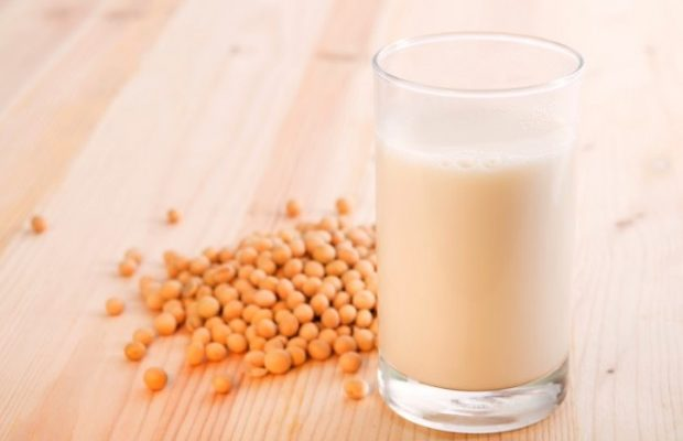 leite de soja engorda