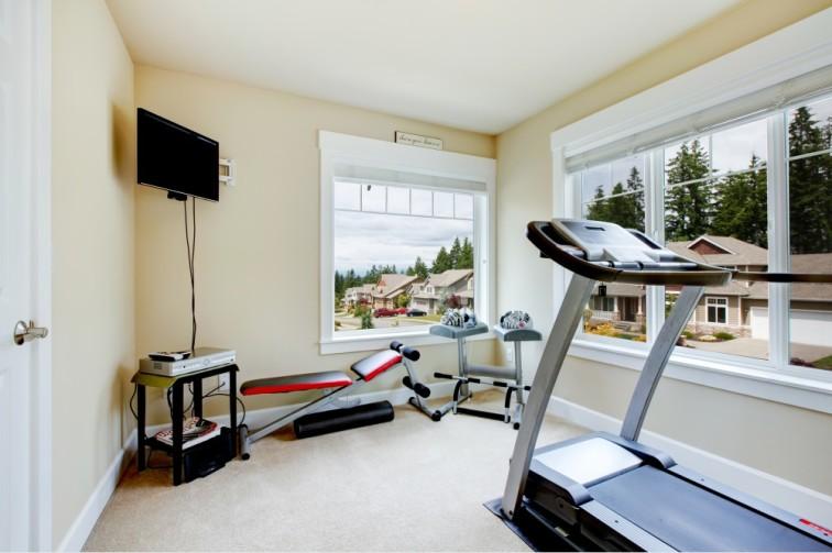 attic bedroom ideas on a budget - Dicas de o Montar a Melhor Academia em Casa