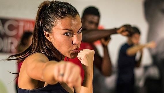 Aula de body combat