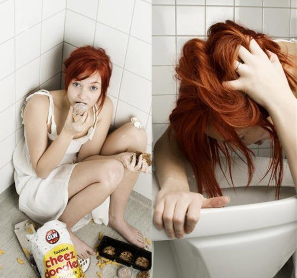 Como me provoco el vomito para bajar de peso