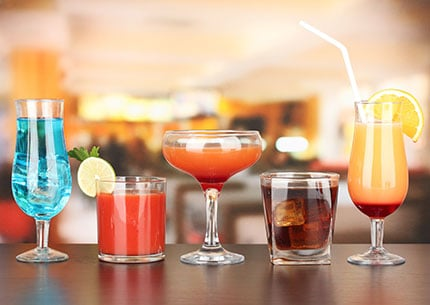 drinks sem álcool com poucas calorias