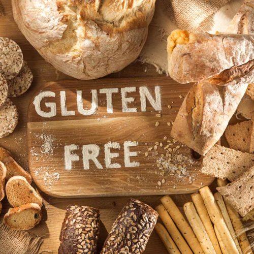 pães livres de glúten