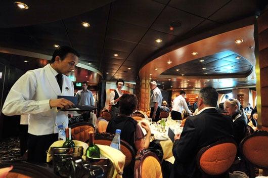 Buffet em cruzeiro
