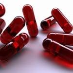 Cápsulas vermelhas