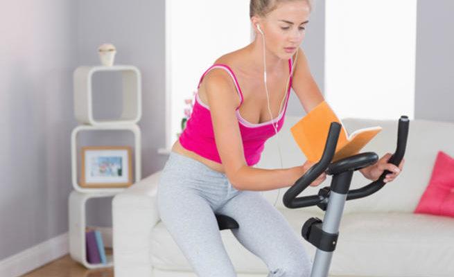 Ler exercitando-se