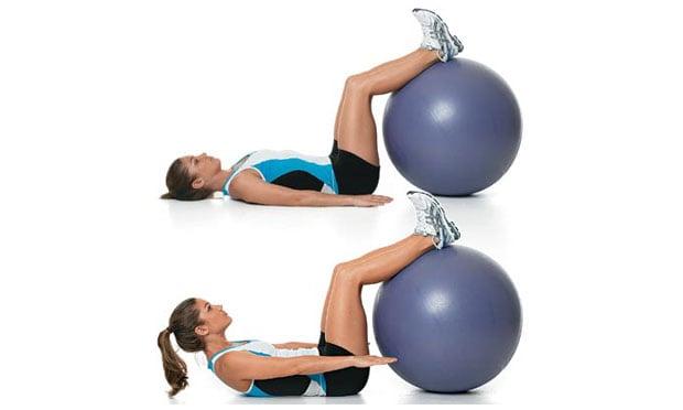 10 melhores exerc cios com bola for Exercicio para interno de coxa