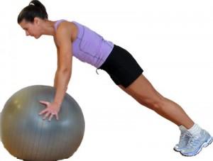 triceps na bola
