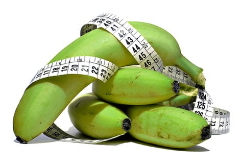 emagrecer com banana verde