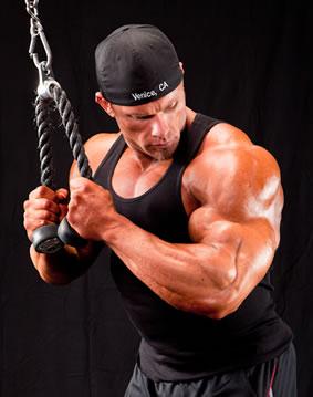 Ben Pakulski triceps