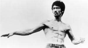 Bruce Lee- barriga tanquinho