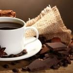 Café e chocolate