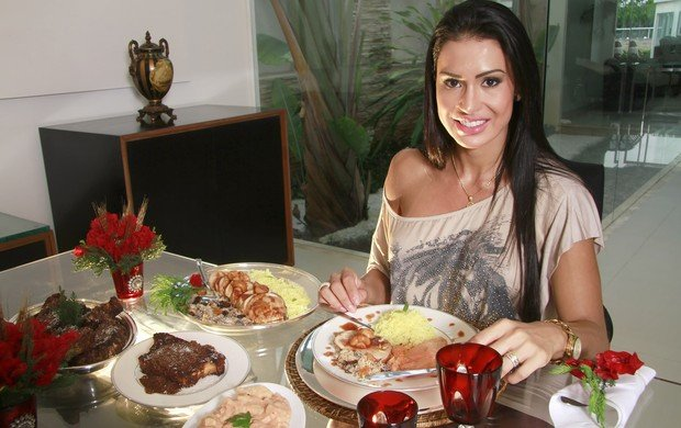 Ceia da Gracyanne Barbosa