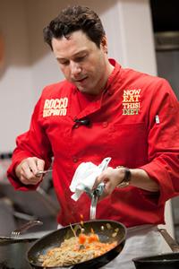 Rocco Dispirito Cozinhando