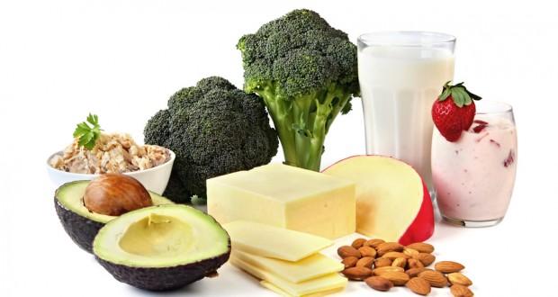Alimentos com Cálcio