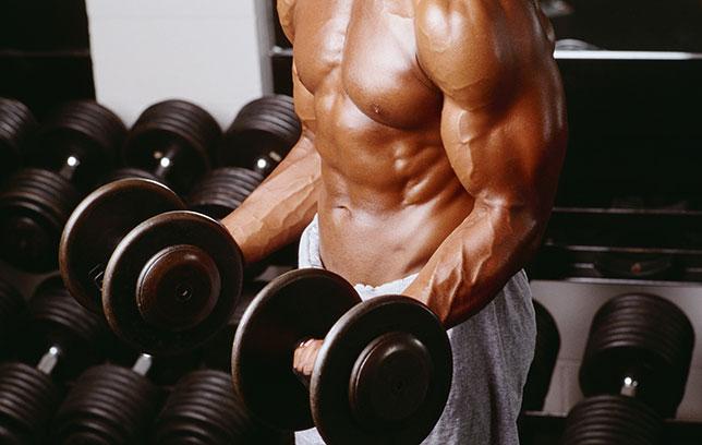Homem massa muscular