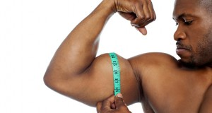 Medindo bíceps