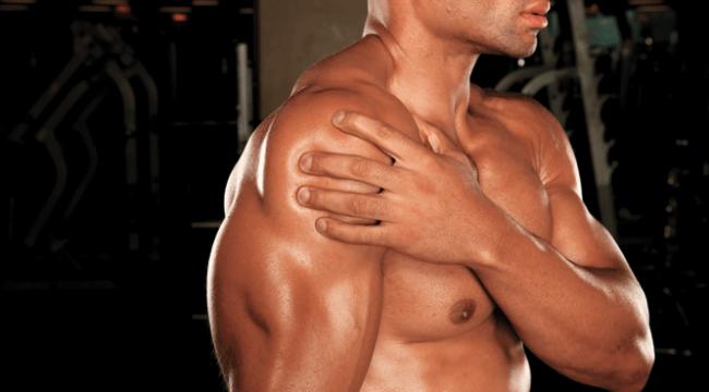 Dor muscular no ombro