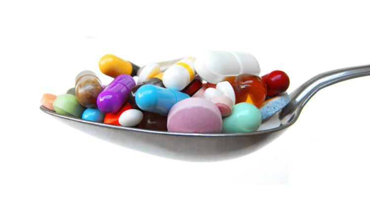 Remédios na colher