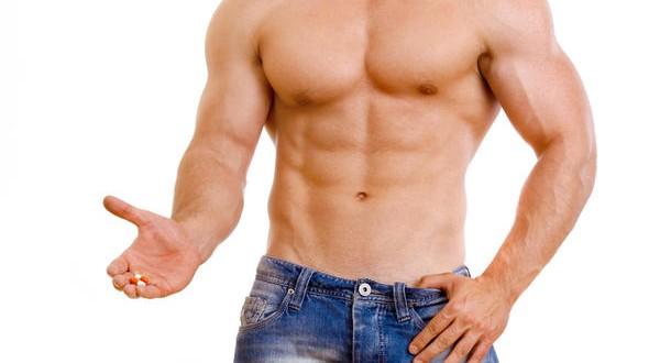 Segurando esteroides