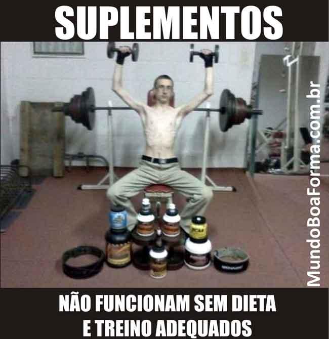Suplementos, não funcionam sem dieta e treino adequados-650