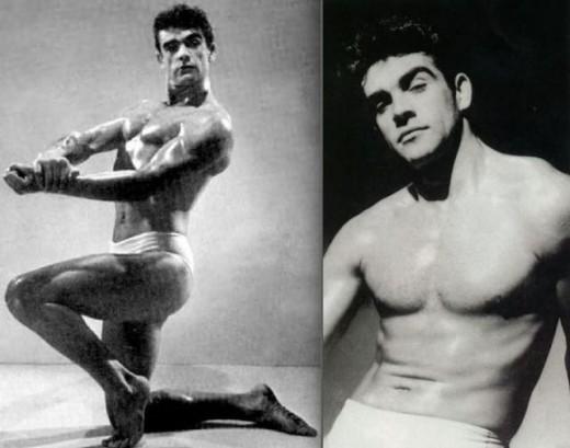 Sean Connery: fisiculturista