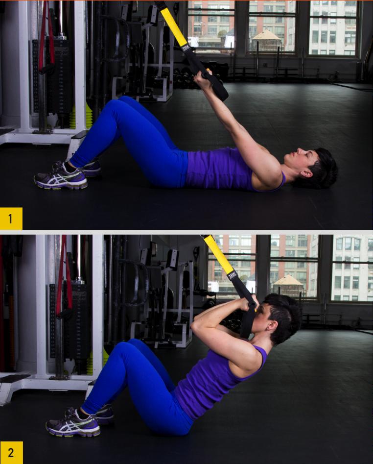 exercícios com TRX