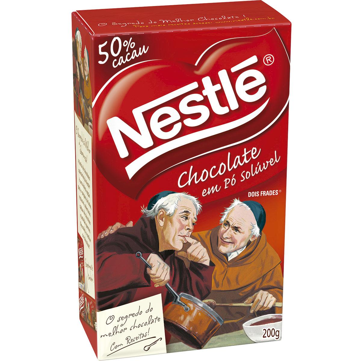chocolate em p¢ sol£vel