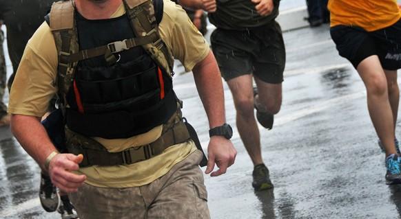 Corrida com colete