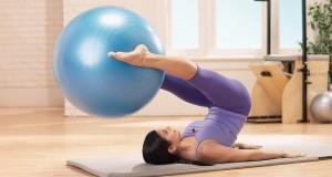 Pilates com bola