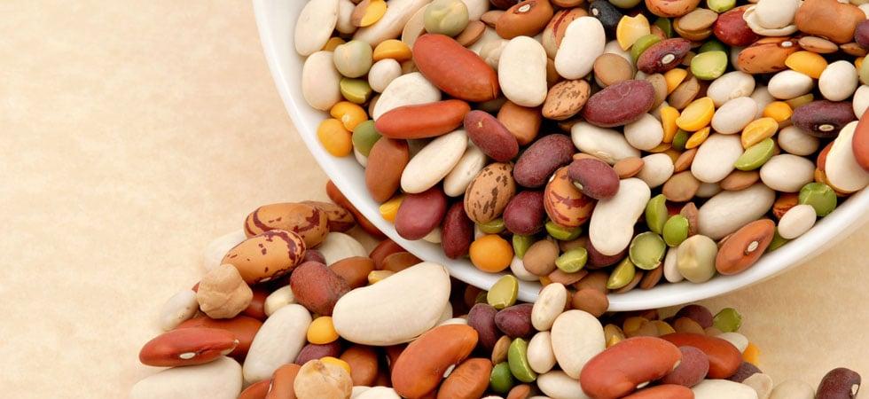 sementes leguminosas