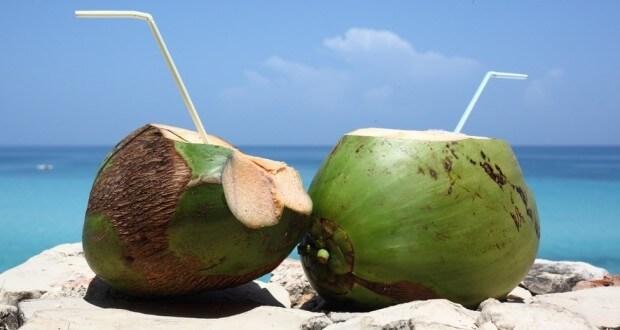 Blog do Barão- Água de coco cara em Guarapari