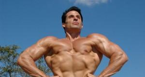 Bodybuilder natural