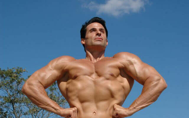 Bodybuilder natural