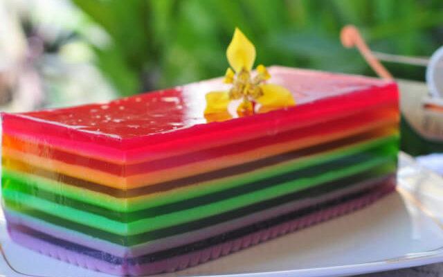 Gelatina de arco íris