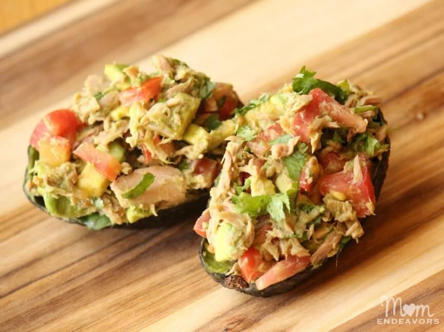 Tuna-Avocado-Salad