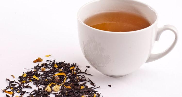 Chá de nozes pecan