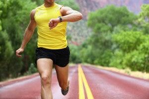 Correndo com frequencímetro