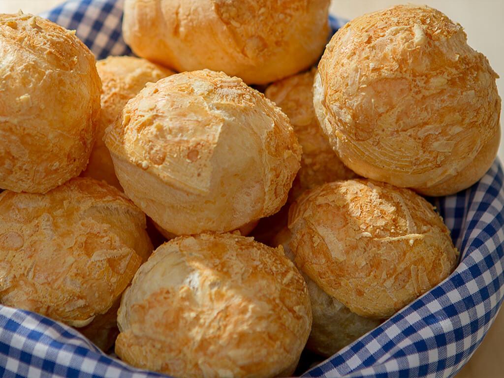 Calorias pao de queijo