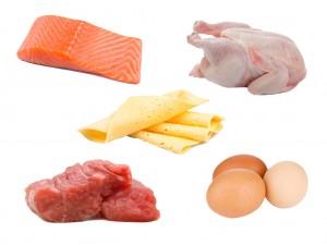 Alimentos com proteínas