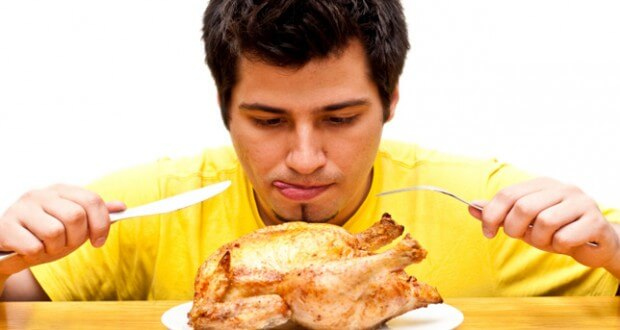 o que não comer para treinar