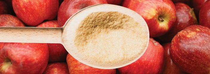 Farinha de maçã