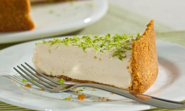 Torta de limão light