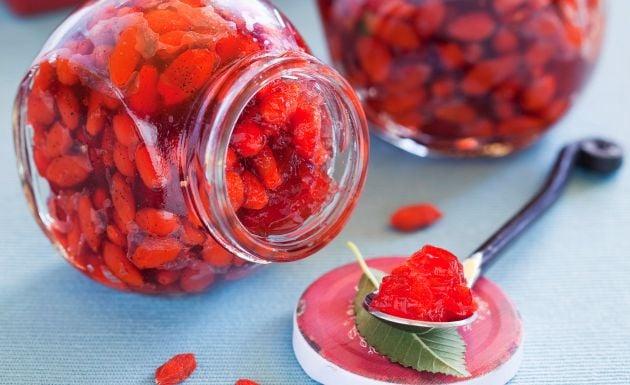 Geleia de goji berry