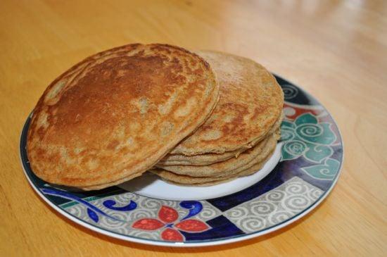 sou flour pancakes