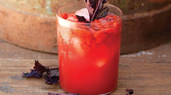 Suco de goji berry
